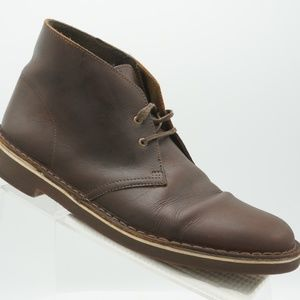 Clarks Bushacre 2 Size 9.5 Brown Chukka Boot R2B10